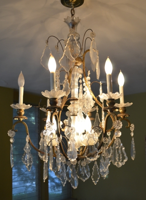 Pre WWII Crystal Chandelier 3ft x 2ft