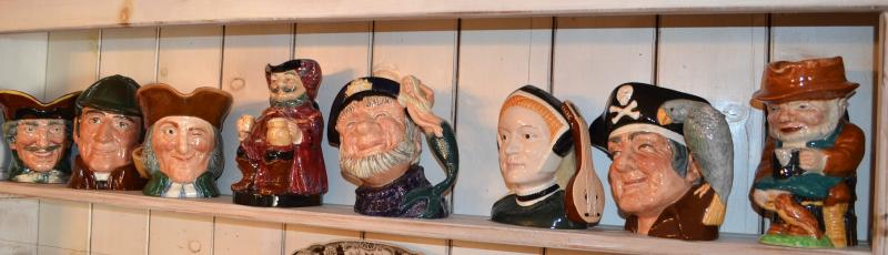 Collection of Toby - Royal Doulton