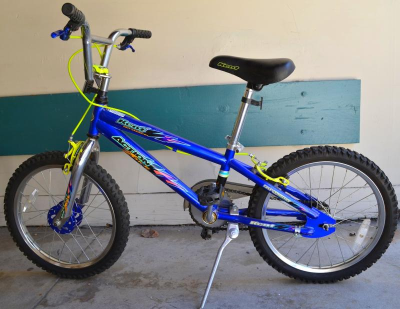 Schwinn kids Stardust bike (girls) and Kent Action Zone bike (boys
