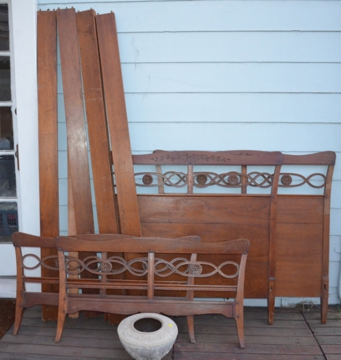Antique Double Bed