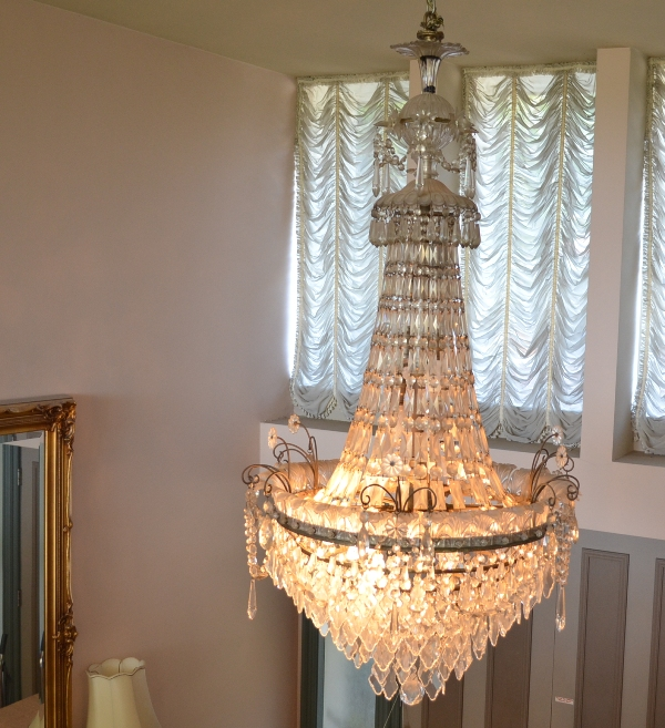 Possible Baccarat Crystal Chandelier