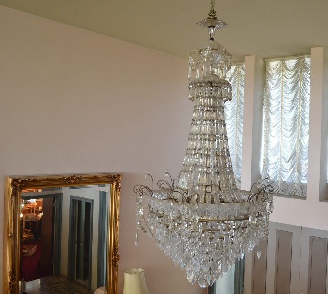 Crystal Chandelier possible Baccarat