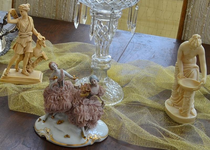Vintage Capodimonte Figurine